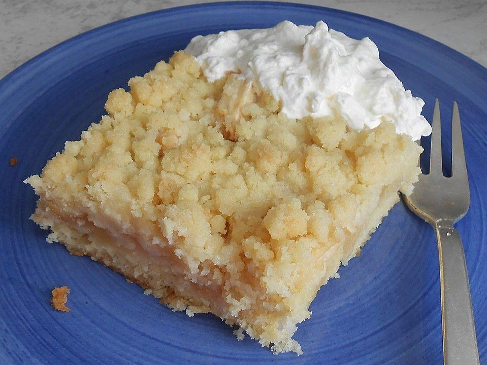Schneller Apfelmus Streuselkuchen Dene Farki Gorrr Kuchen