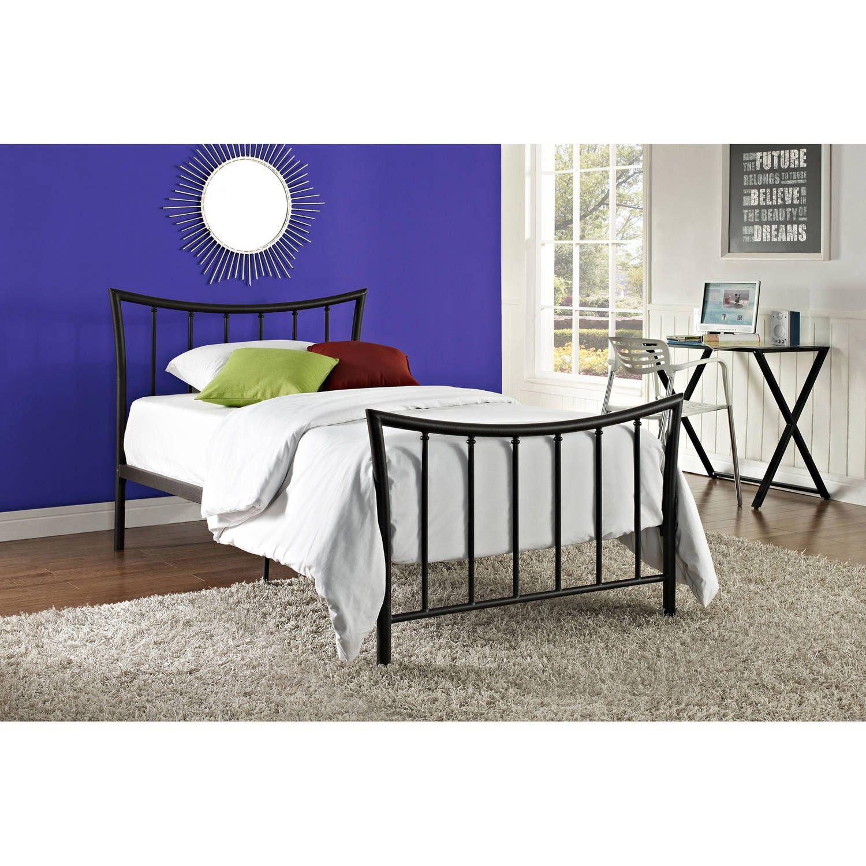 Buy Bali Bronze Metal Bed, Multiple Sizes At Walmartcom