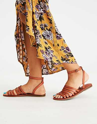 Aeo Thin Multi Strap Sandal Come On Warm Weather