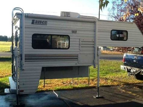 2005 Used Lance 845 Truck Camper In Montana Mt Recreational