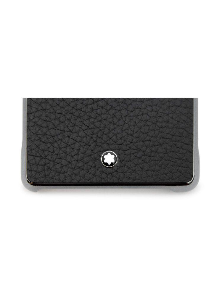 on sale d5a99 72674 eBay #Sponsored Man hard cover Montblanc Meisterstuck black leather ...