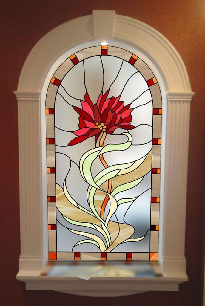 50Artful Home Decorating Ideas Using Stained Glass