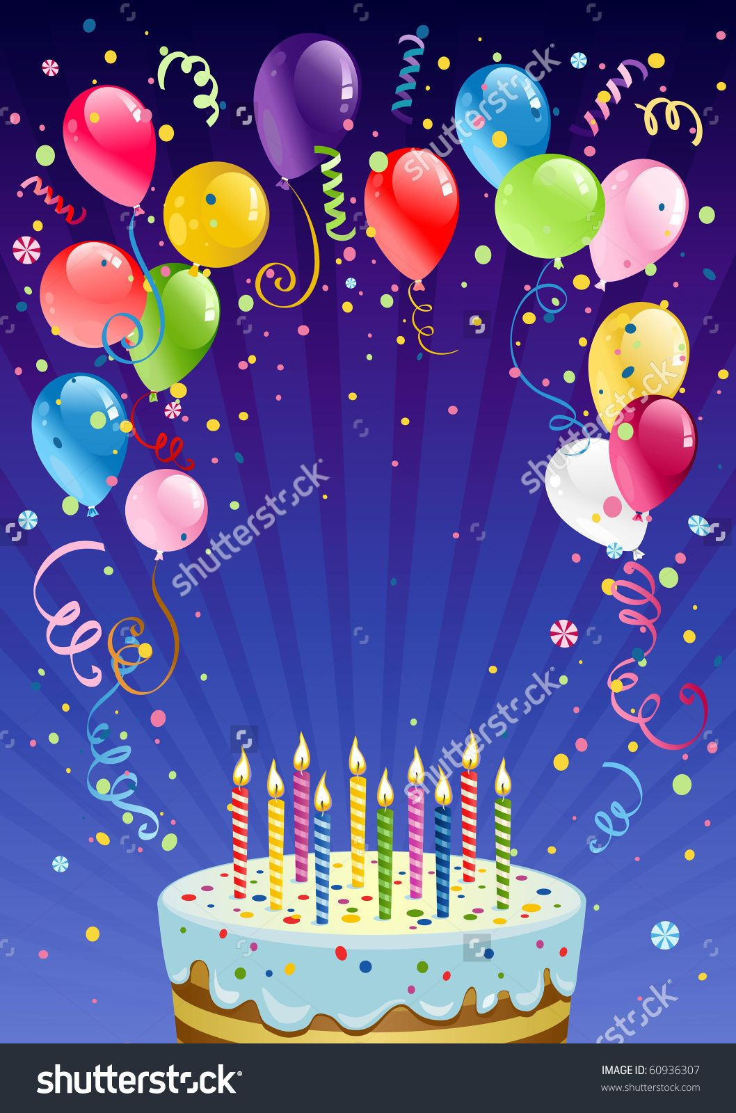 Birthday Backgrounds Vector Free Vector Download Free Birthday