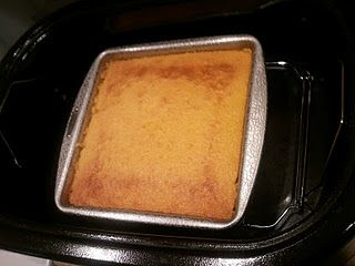 Pineapple Upside Down Cake Made In An Electric Roaster