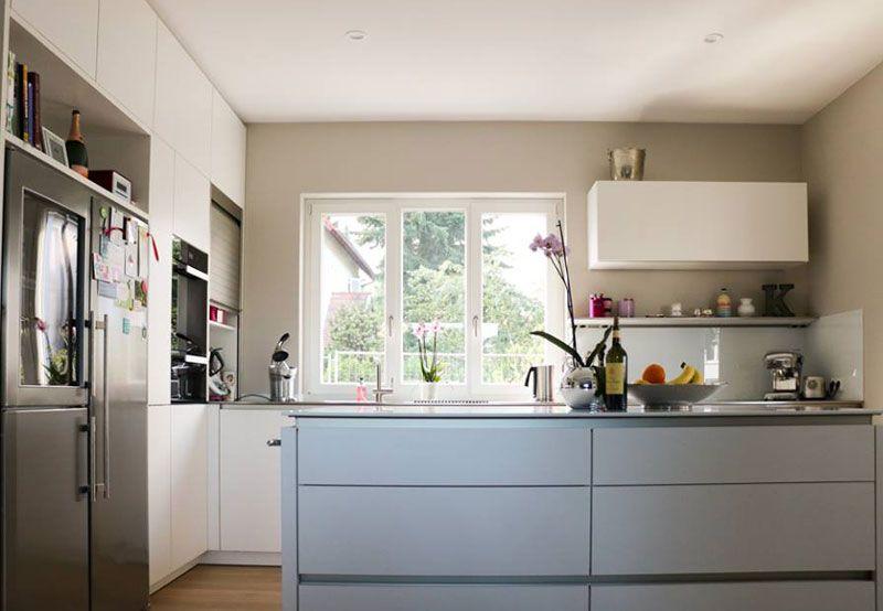 Küchenhaus Süd kundenküche siematic lotosweiss kücheninsel küchenhaus süd
