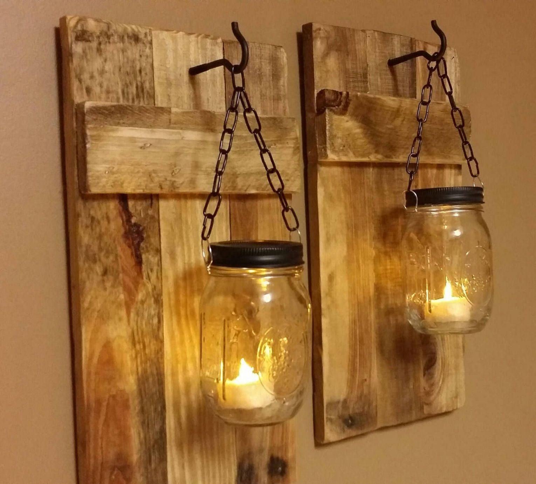 80 Beautiful Ways Hanging Mason Jar Sconces