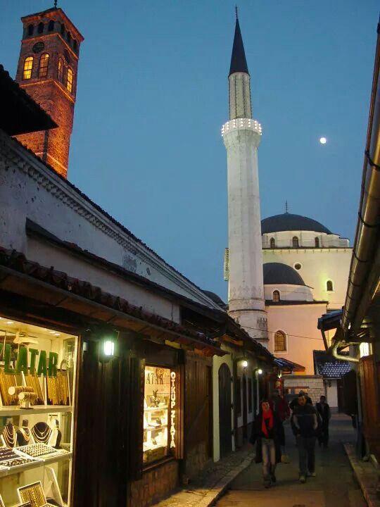 Gazihusrev - begova dzamija, Bascarsija, Sarajevo ...