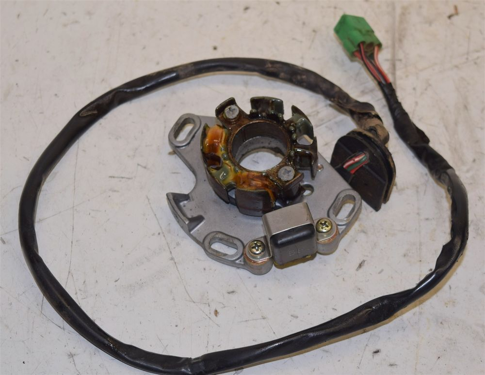 suzuki rm 250 ignition stator generator 32101 37e00 96 97 rh pinterest com