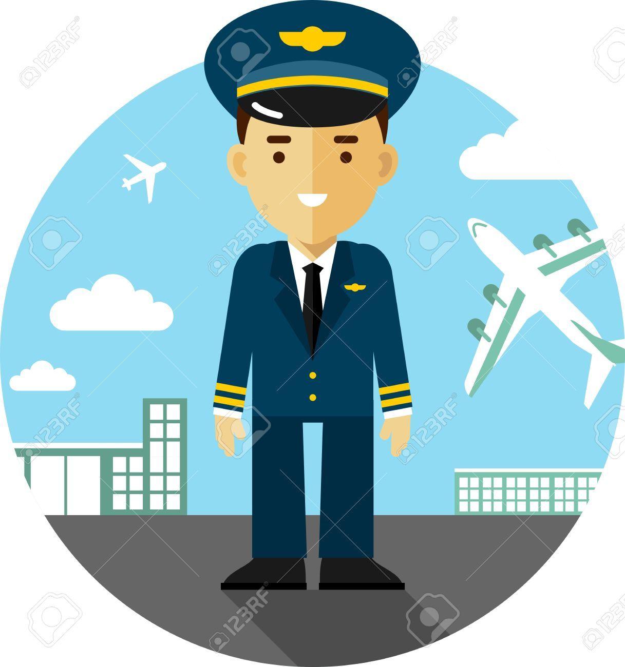 Image result for pilot clipart   FlyMHK   Pilot, Clipart ...