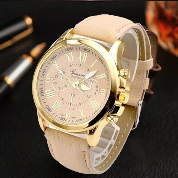 ✨Just In 03/01✨Classic Look for the Classic Woman✨ Features:   ✨A classic look, this fashion geneva roman numerals analog quartz wrist watch is specially designed with metal case and faux leather band!  ✨ Gender: Women's  ✨ Display: Analog  ✨Style: Casual  ✨Case Material: Metal  ✨Case Diameter: 4cm/1.57'' (Approx.)  ✨ Band Material: Faux Leather  ✨Band Length: 23cm/9.06'' (Approx.) (Case is Included)  ✨  Band Width: 2cm/0.79'' (Approx.) Geneva Accessories Watches
