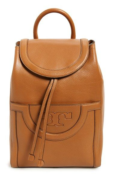 a710e588a37d Tory Burch  Serif T  Leather Backpack available at  Nordstrom URL   http
