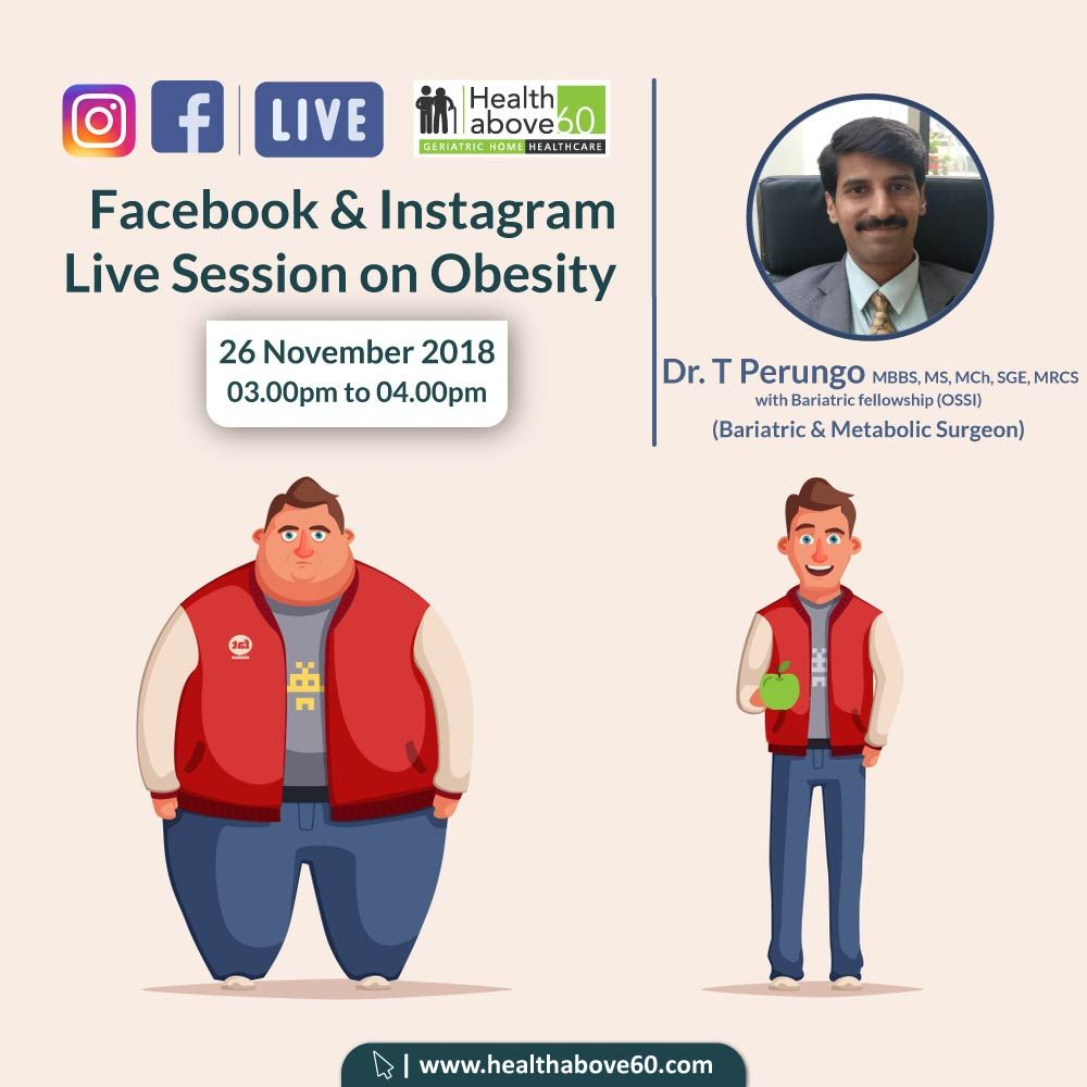 Catch us live on #Facebook and #Instagram with Dr  T  Perungo