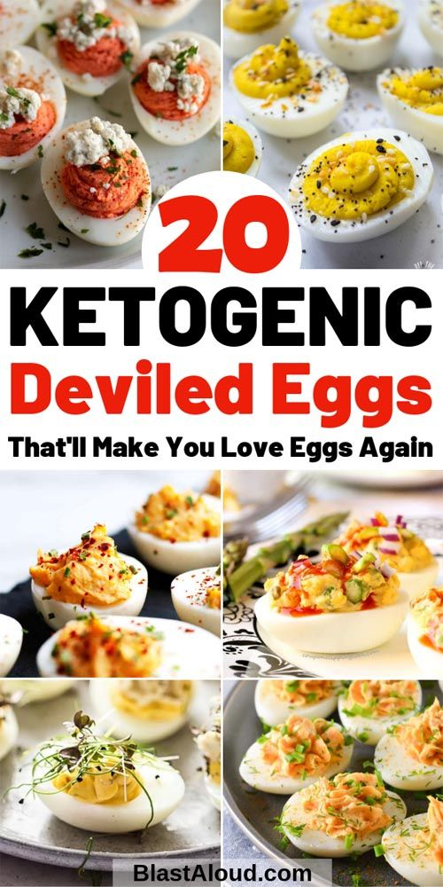 20 Keto Friendly Deviled Eggs Recipes To Try Today