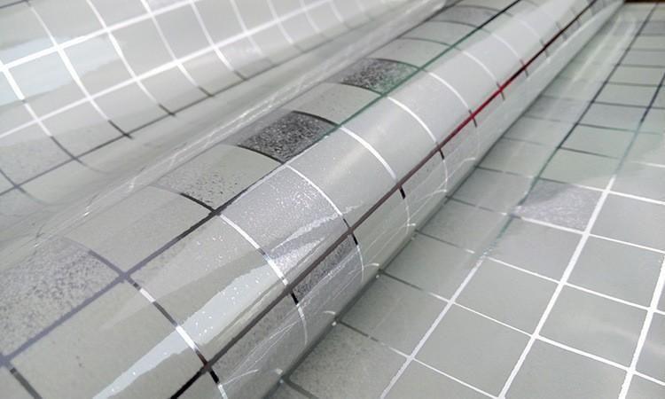 10meter Aluminum Foil Self Adhesive Mosaic Stickers Kitchen Anti Oil Wallpaper High Temperature Vinyl Waterproof Wall Sticker Wall Sticker Pvc Wall Adhesive