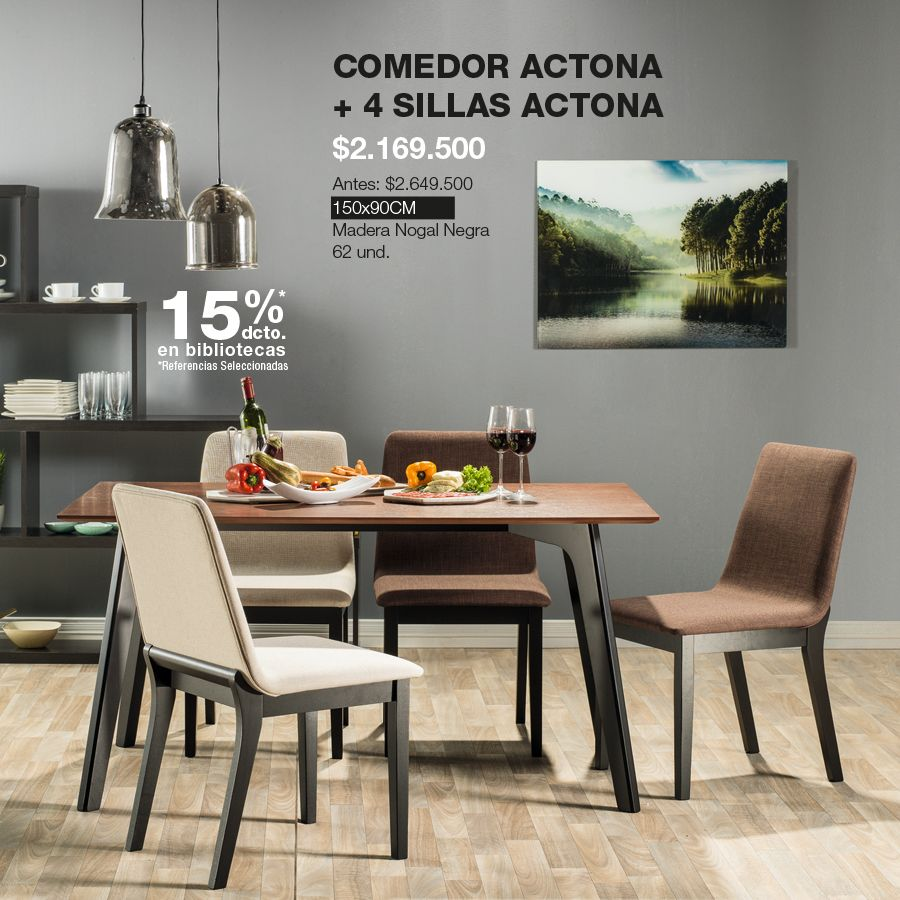 Comedor Actona HomeArticles HomeDesign Style HomeStyle Decoracin