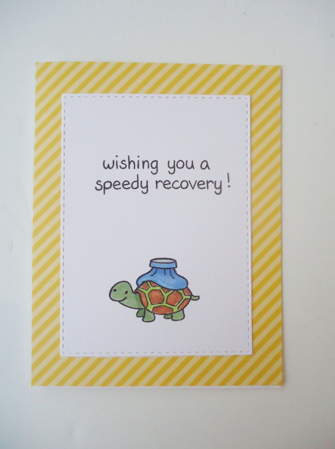 Wishing You A Speedy Recovery Handmade Get Well Greeting Card