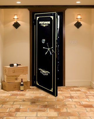 Vault Doors, Gun Vaults, Armory Vault Doors and Hurricane Doors by  Sportsman Steel Safe