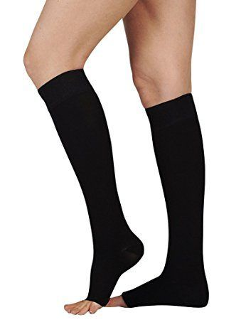 fc1be13a027 Juzo Soft Knee High With Silicone Dot Band 20-30mmHg Closed Toe