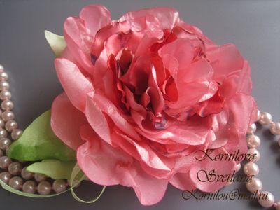 цветы из ткани   Записи в рубрике цветы из ткани   ***ВЯЗАНИЕ-СТИЛЬ ЖИЗНИ*** : LiveInternet - Российский Сервис Онлайн-Дневников