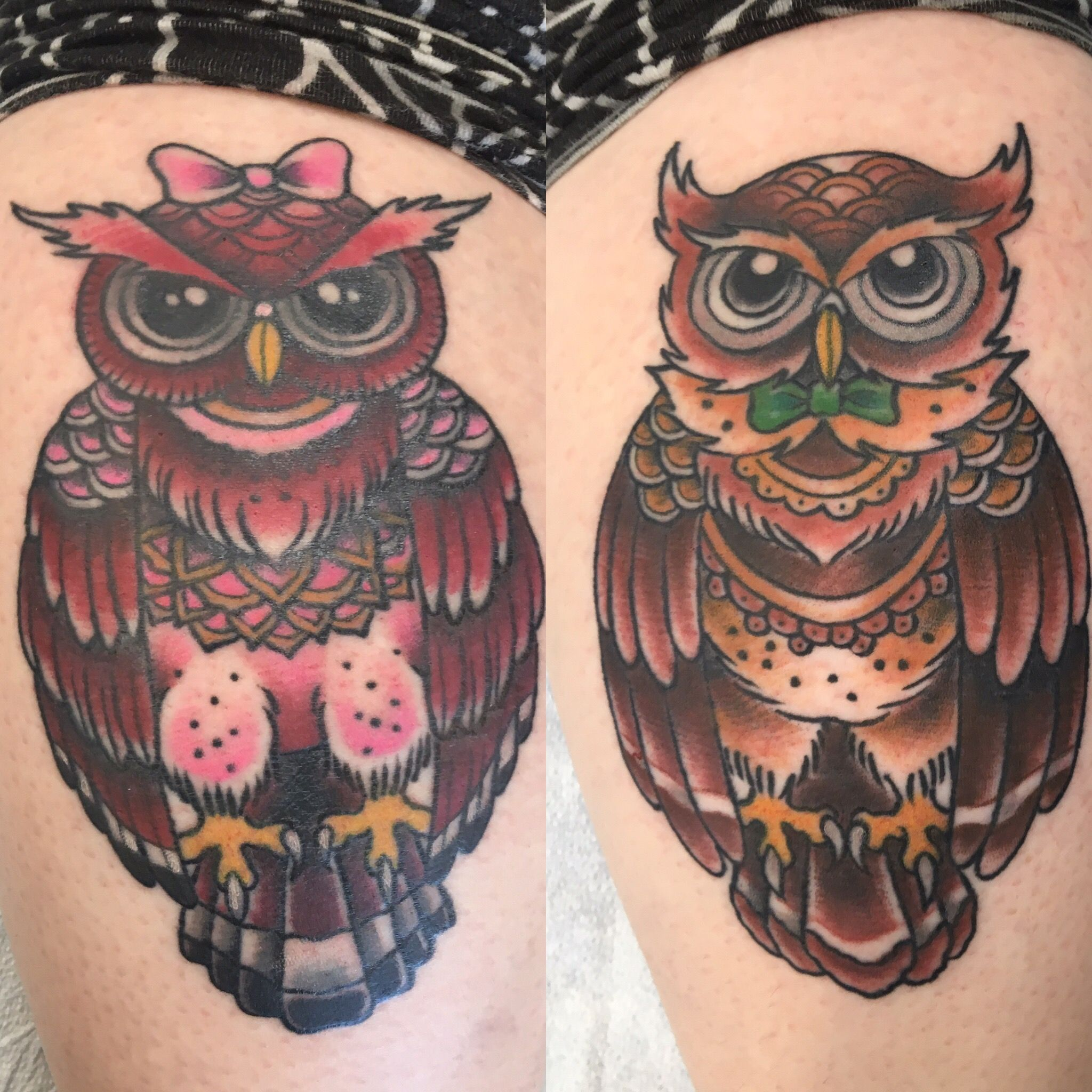 Celeste And Blathers Animalcrossing Acnl Newleaf Art Tattoo Animal Crossing Tattoos