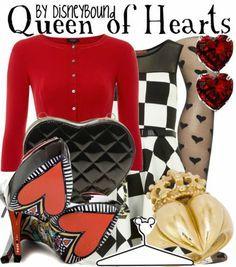 disneybounding queen of hearts - Google Search