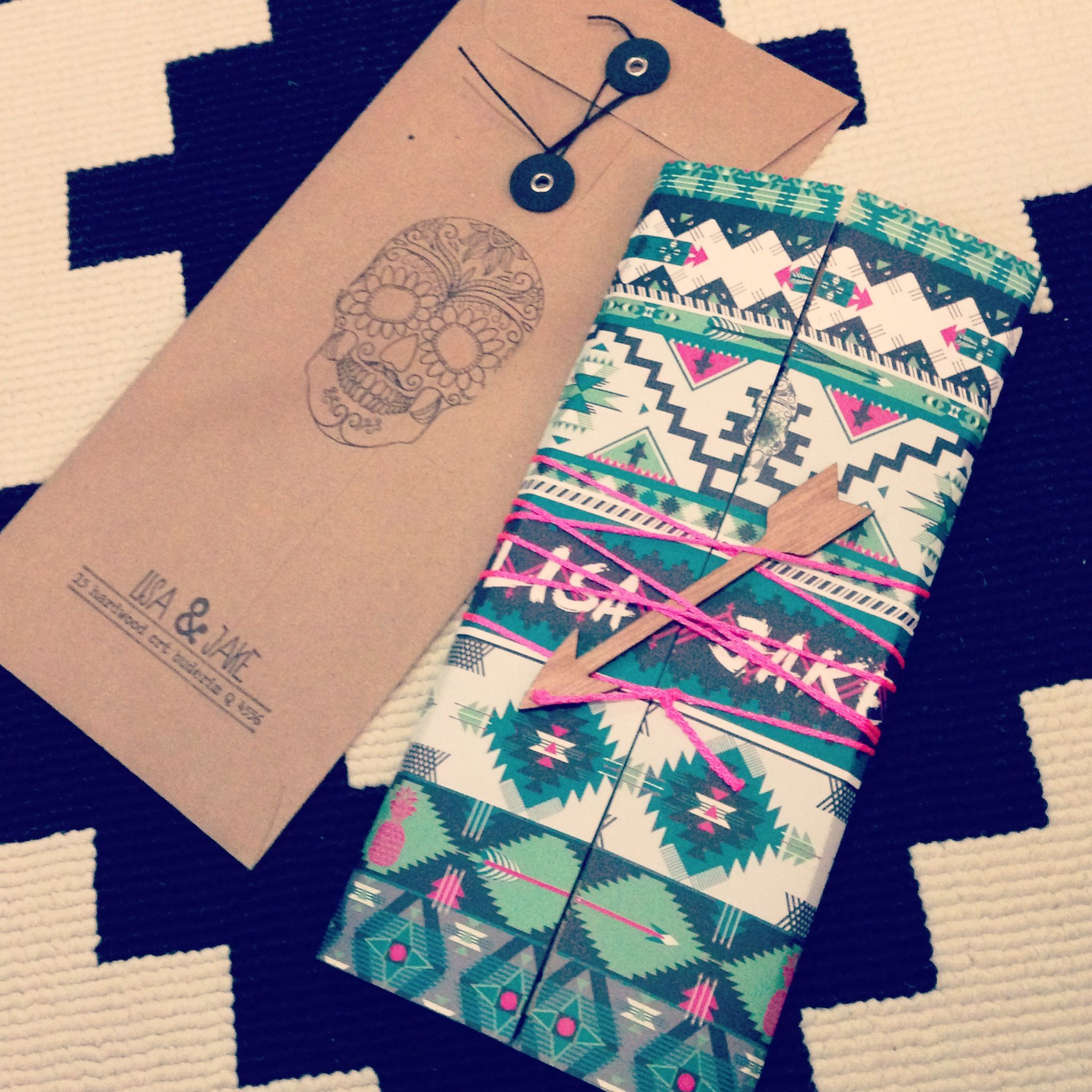 Aztec mexican wedding invitations www.ivyinvite.com.au