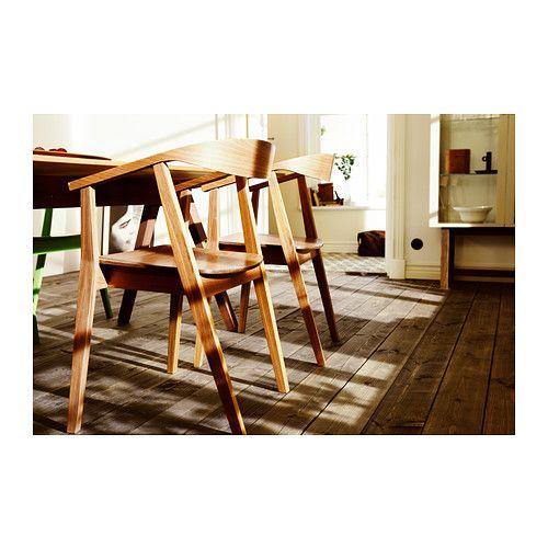 stockholm stol ikea stolens formade rygg armst d och valn tsfaner g r tillsammans att den f r. Black Bedroom Furniture Sets. Home Design Ideas