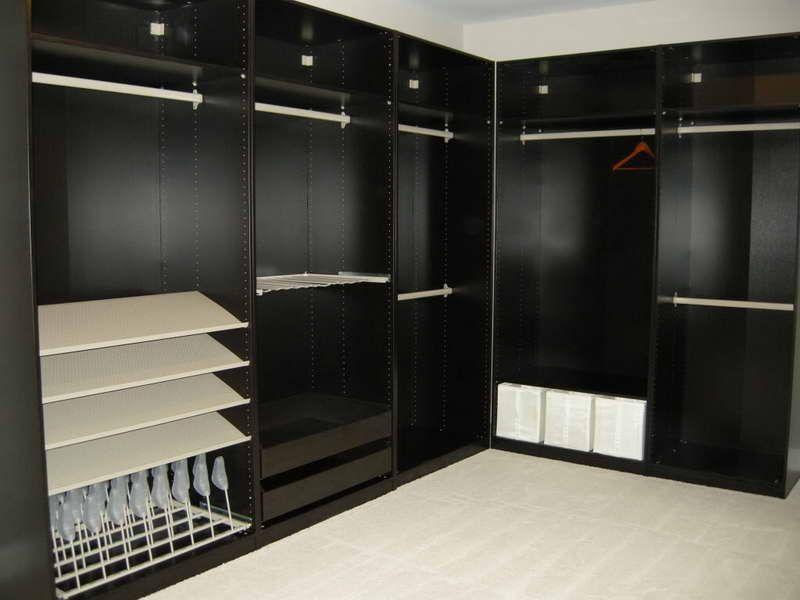 Pax Closet System Design With Color Black Pax Closet Walk In Closet Ikea Closet