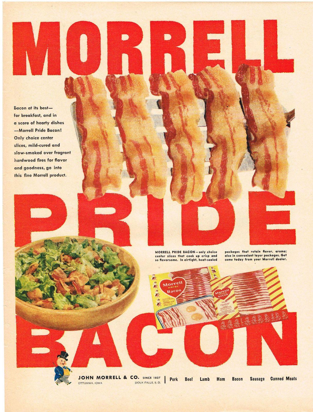 Morrell Pride Bacon, 1953