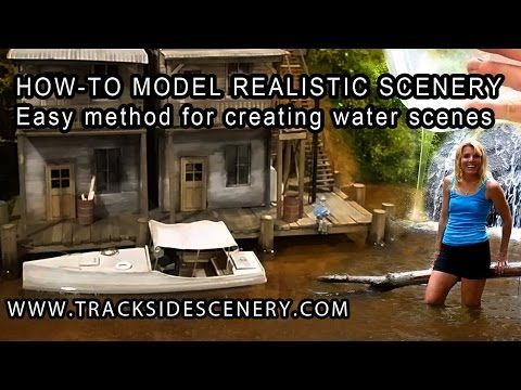 how to make terrain a model