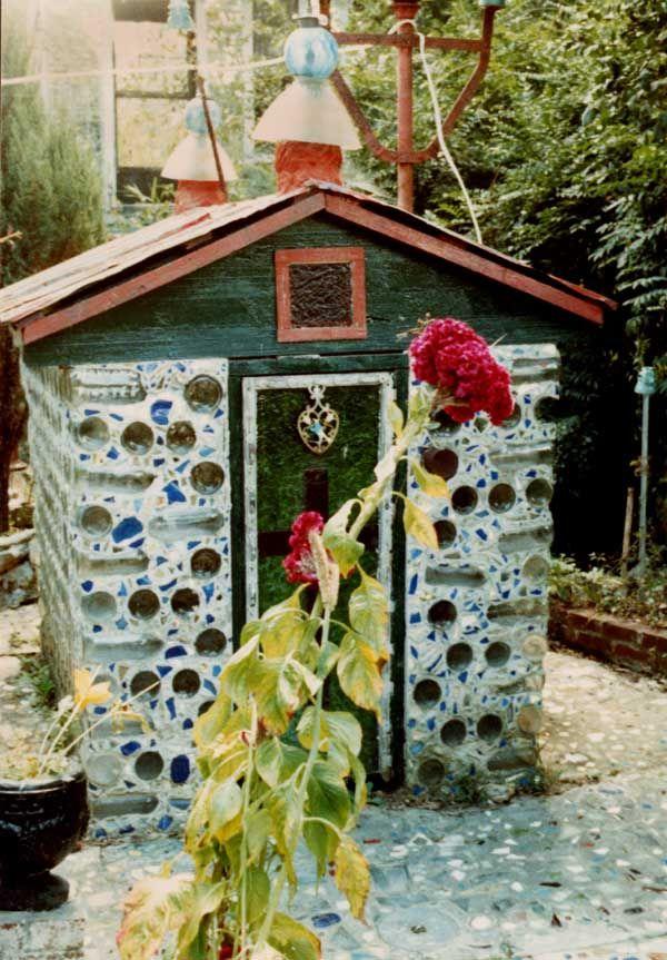 Howard Finster 39 S Paradise Garden The Little House Outsider Art Pinterest Paradise