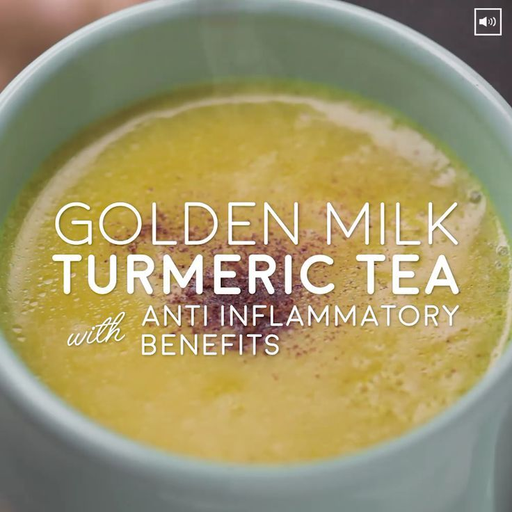 Golden Milk Turmeric Tea With Anti Inflammatory Be