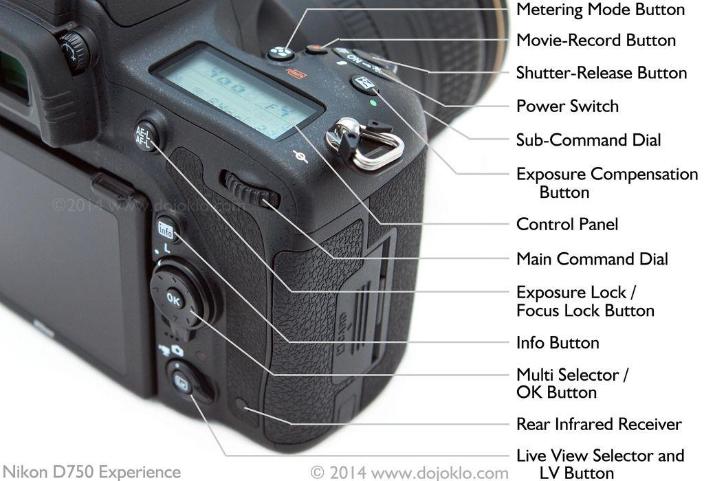 Nikon D750 - Body and Controls   Cameras   Nikon, Camera