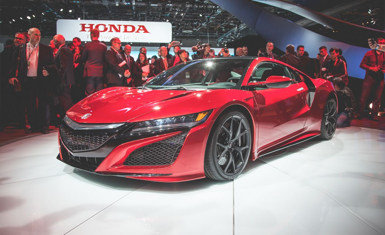 2016 Acura Nsx Dissected Train Chiore Photo Gallery Of Feature From Car And Driver Images
