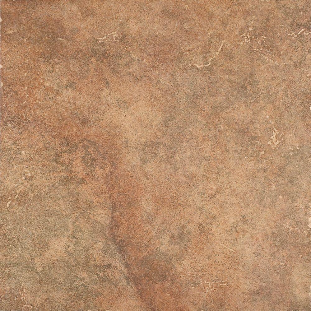 Marazzi Marmo Venato 16 In X 16 In Brown Ceramic Floor And Wall