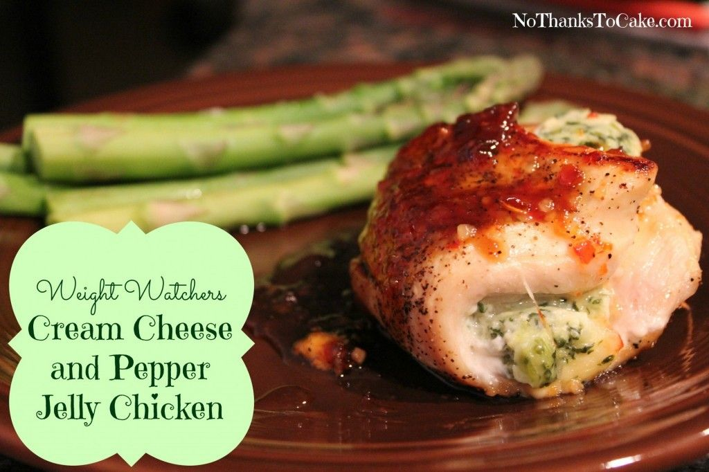 Cream Cheese And Pepper Jelly Chicken Poultry Pinterest Pepper