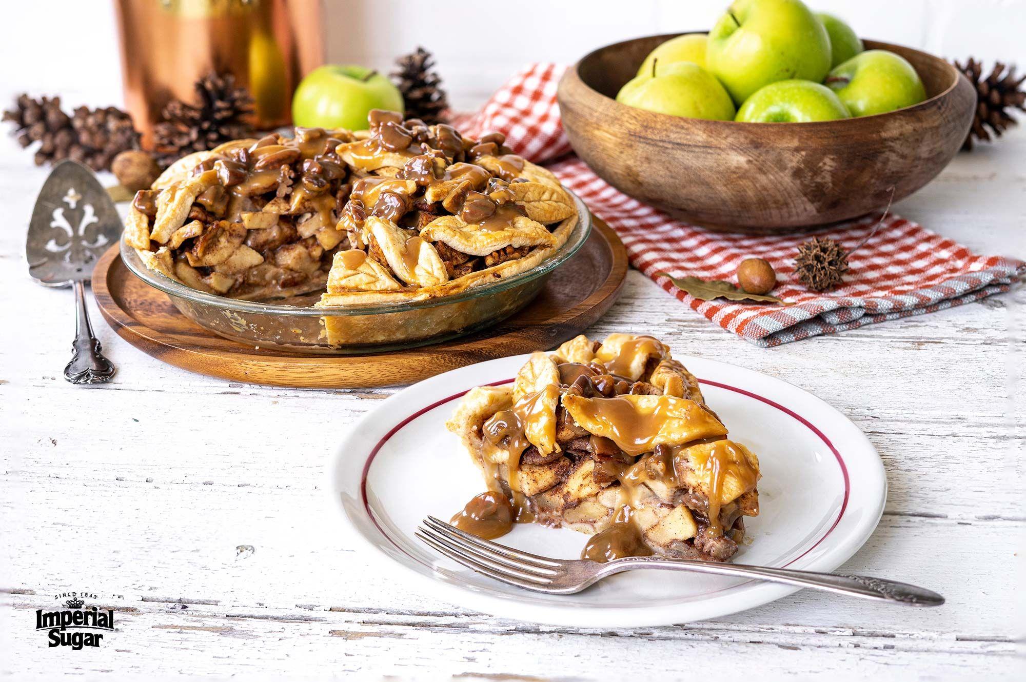 Apple praline pie imperial sugar fool proof recipes