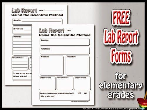 Buy scientific lab report