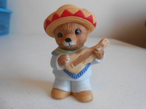 homco home interiors figurine holding a guitar 1406 ships