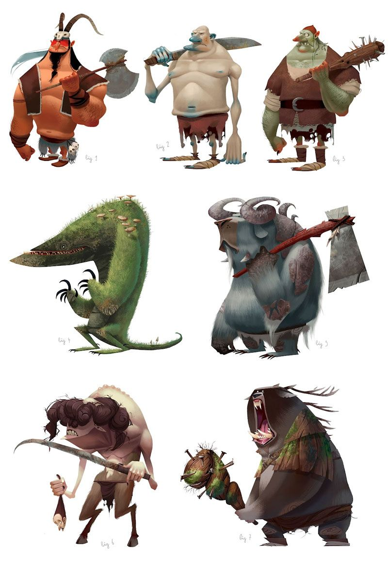 Concept Art - Characters