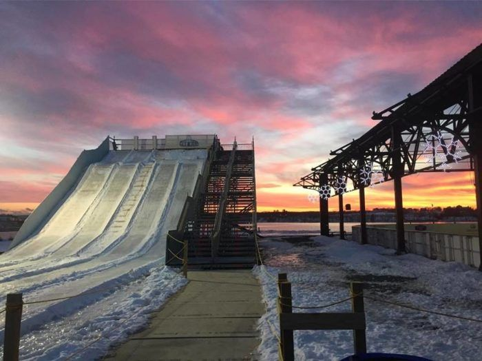 The 8 Best Places In Maine To Go Snow Tubing This Winter Snow Tubing Maine Travel Maine Winter