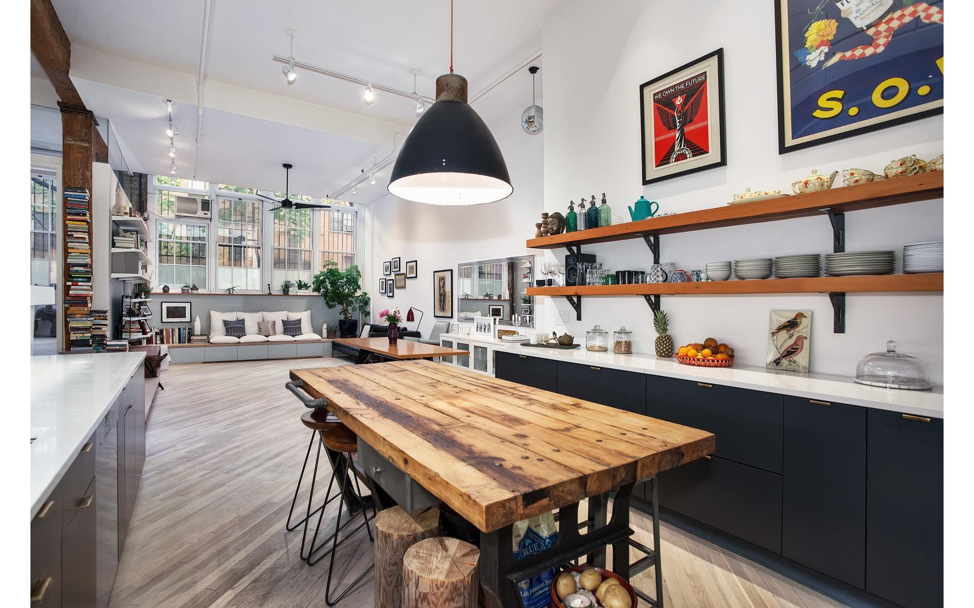 Beautifully Renovated, Soaring Soho Loft In A Landmarked Prewar Building This