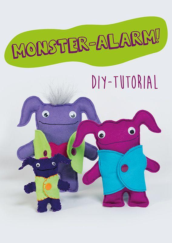 Monster nähen | TOYS | Pinterest | kostenlose Vorlagen, Selber nähen ...