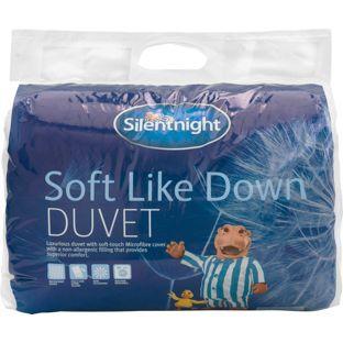 Silentnight Soft Like Down 10 5 Tog Duvet Kingsize At Argos Co Uk