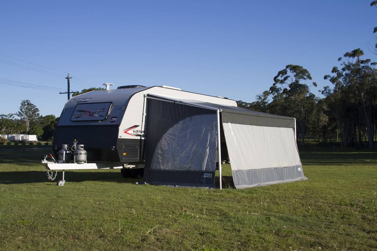 Charming #Caravan Hybrid Awning Shade Walls (Long Wall)
