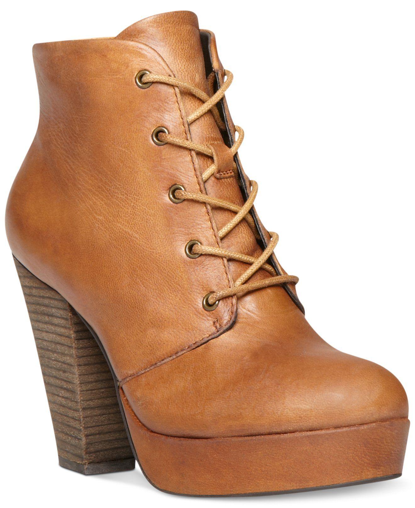 61d8183df03 Steve Madden Raspy Platform Booties - Steve Madden - Shoes - Macy's ...