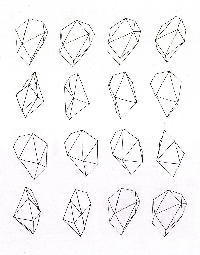 simple geometric beautiful pinterest