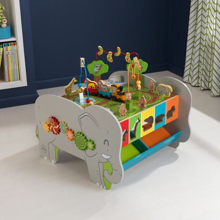 elephant activity table for toddlers. affiliate ad. | little boys