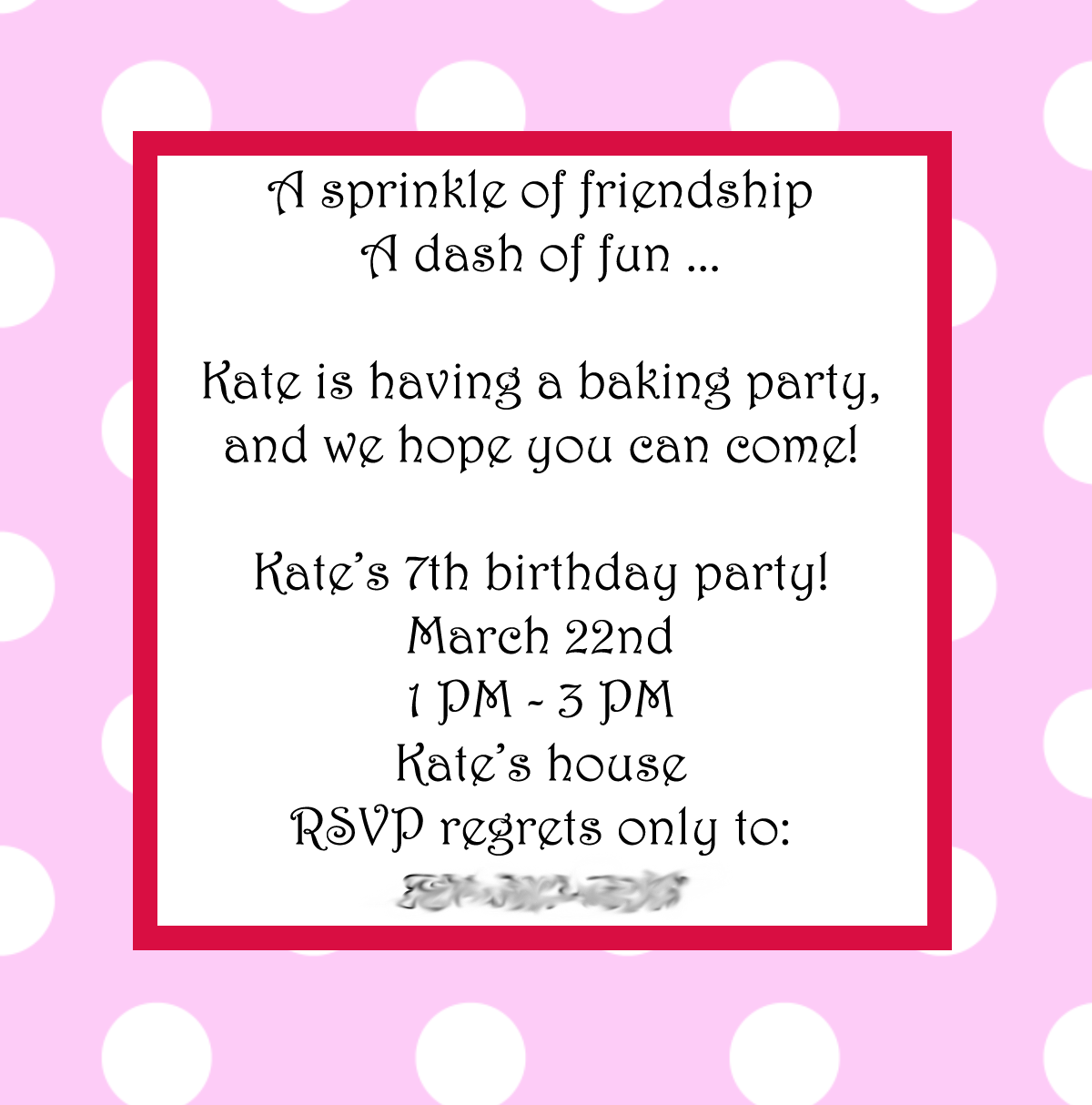 Simple Baking Birthday Party Ideas by | Party Themes | Pinterest ...