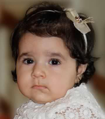 Iryana Leila, daughter of the late Prince Ali Iran Raha Didevar, is now the first year of life ...